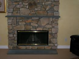 stone fireplace hearth decor modern on cool fresh and stone