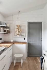 deco cuisine blanc et cuisine blanche et bois stunning deco cuisine blanc et bois