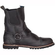 motorbike ankle boots motorcycle spada kensington rigger boots wp black uk seller ebay