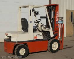 nissan 50 forklift item db2779 sold december 28 vehicle