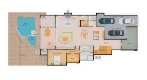 1 car garage size henkel first floor plan fg schaub