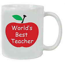 world u0027s best teacher 11 oz white ceramic coffee mug with gift box