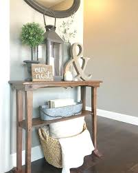 entry way table decor entrance table ideas best small entryway tables ideas on small
