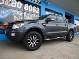 Ford Ranger Truck Rims - ford ranger wildtrak xd series xd818 heist wheels satin black