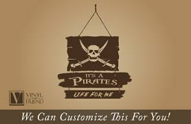 pirate decor it u0027s a pirates life for me wood planks and skull with