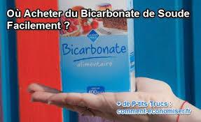 bicarbonate de soude cuisine où acheter du bicarbonate de soude facilement