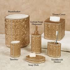 destiny gold ceramic bath accessories