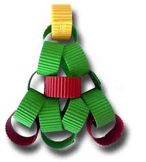 paper crafts for children paper chain christmas tree