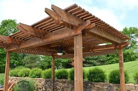 how to build a pergola on a deck image of how to build pergola