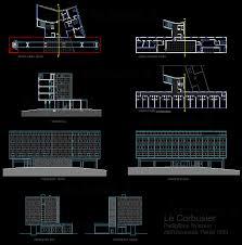 archweb porte padiglione svizzero dell universit罌 1930 le corbusier