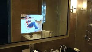 Mirror Tvs For Bathroom Tvs For The Bathroom Bathroom Bathroom Tv Mirror Review