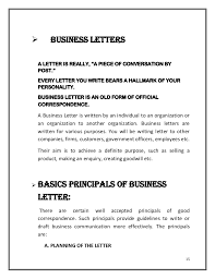 business letters 3 3 abstract business letters types of business