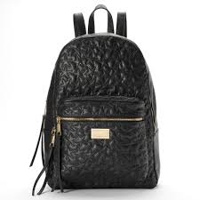 Juicy Couture Home Decor Couture Quilted Stars Dome Backpack