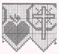 imagenes religiosas a crochet mejores 17 imágenes de filet religioso en pinterest punto de