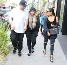 kim kardashian and blac chyna make peace during lunch outing with