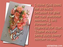 Happy Birthday Thank You Quotes Happy Birthday Mother In Law Quotes And Sayings With Images