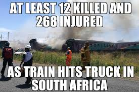 Africa Meme - south africa train crash memenews