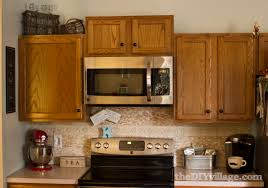 Pictures Of Kitchens With Backsplash Split Face Travertine Tile Backsplash The Diy Village
