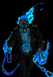 spooky screensavers the 25 best blue ghost rider ideas on pinterest mobile