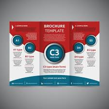 one sided brochure template professional tri fold brochure templates roundrobin co