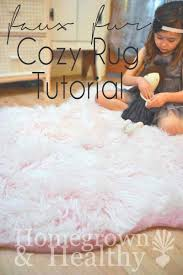 Bear Rug For Kids by Faux Fur Rug Tutorial Cozy Fur And Craft