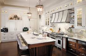 Kitchen Flush Mount Ceiling Lights Marble Looking Granite Kitchen Traditional With Glass Cabinet Door