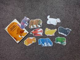 brown bear brown bear what do you see printables for felt board