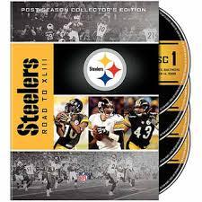 Steelers Bathroom Set Pittsburgh Steelers Dvds Steelers Dvd Blu Ray And Video Sets
