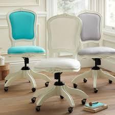 White Desk Chair With Wheels Design Ideas Chair Design Ideas Pretty Office Chairs For Pretty Office