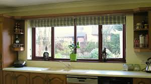 Kitchen Window Designs by Kitchen Roman Blinds For Kitchen Windows Design Ideas Modern