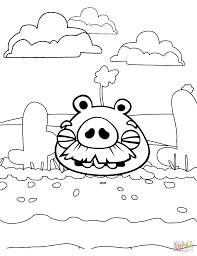 foreman pig in desert coloring page free printable coloring pages