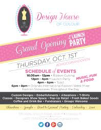 e join us to celebrate the grand opening of the Design House of Colour at our brand new location in downtown Orlando The event will feature a ribbon