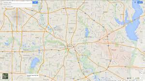 Dallas Tx Map Mesquite Texas Map