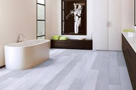 vinyl resilient flooring modern bathroom miami by