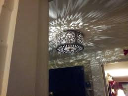 Tin Ceiling Lights Punched Tin Ceiling Light Fixture Www Lightneasy Net