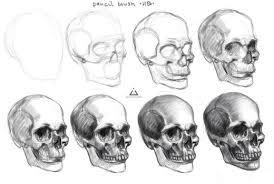 tutorial skull on drawing tutorial deviantart