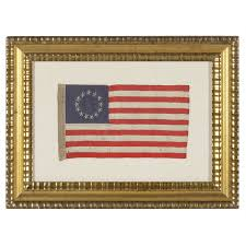 Betsy Ross Flags Jeff Bridgman Antique Flags And Painted Furniture Entirely Hand