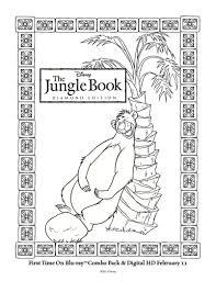 disney jungle book printable baloo coloring mama likes