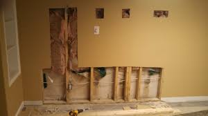 home inspection vertical and horizontal foundation wall cracks