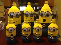 minions centerpieces minion centerpieces do it yourself crafts minion