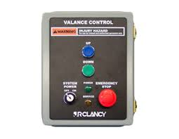 Button Valance Jr Clancy Control Systems Push Button Controls
