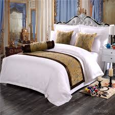 King Size Bed Hotel 2017 Luxury Hotel Decorative Bed Runner Bed Scarf Hotel King Size