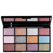 Makeup Nyx nyx professional makeup in your element shadow palette metals