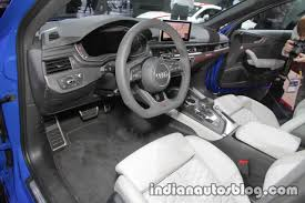 audi dashboard 2017 2018 audi rs4 avant dashboard at the iaa 2017 indian autos blog