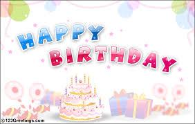 send this beautifull greeting balloons birthday card awesome free send happy birthday card free birthday