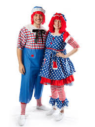 Raggedy Ann Costume Raggedy Anne And Andy Couple Costume Creative Costumes