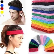 sweat headbands 2018 women headband stretch hairband elastic hair bands