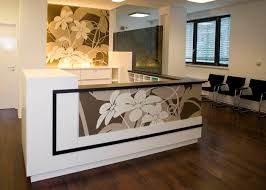 Medical Office Reception Desk Solid Surface Reception Desk Medical Practice By Nathalie Alonso