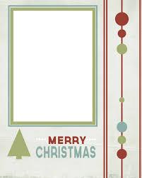 blank printable christmas cards u2013 happy holidays