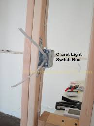 how to wire a closet light with wiremold part 2